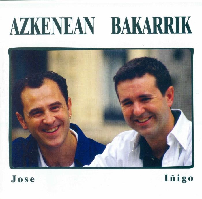 AZKENEAN BAKARRIK Portada disco